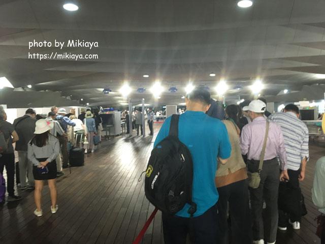 ターミナルに入ってすぐの画像