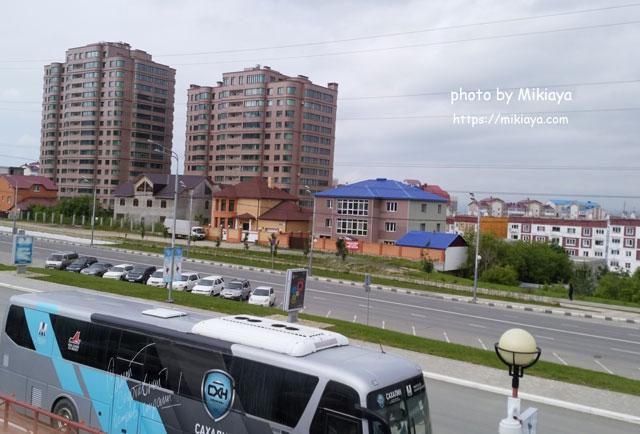 ロシアの町並み